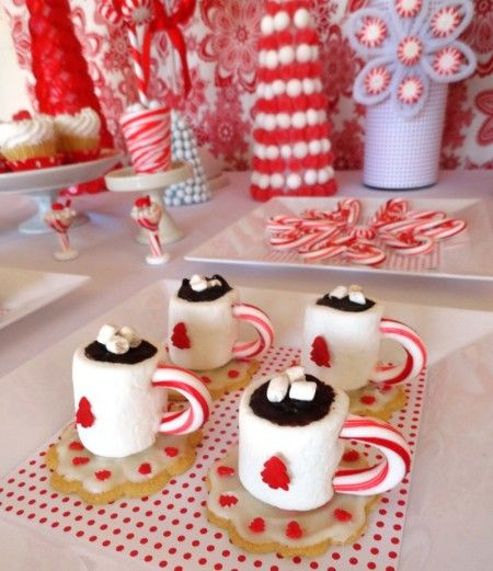 Diy Christmas Desserts  DIY Edible Hot Cocoa Mug Mini Desserts