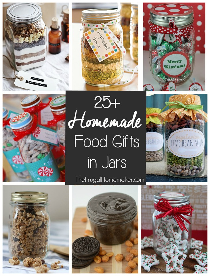 Diy Christmas Food Gifts  25 Homemade Food Gifts in a Jar 31 days to take the