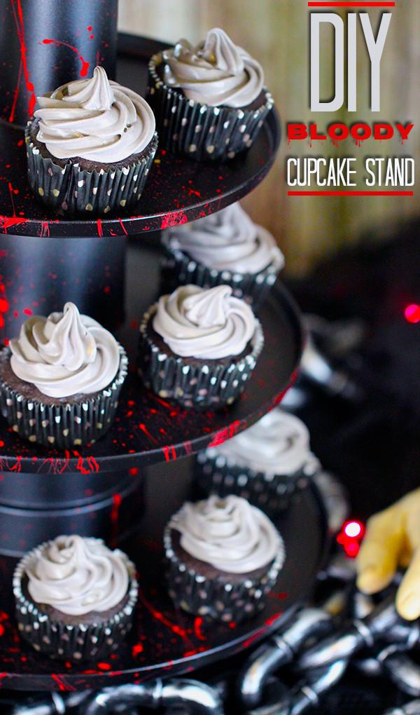Diy Halloween Cupcakes  Spooky Halloween Party Ideas