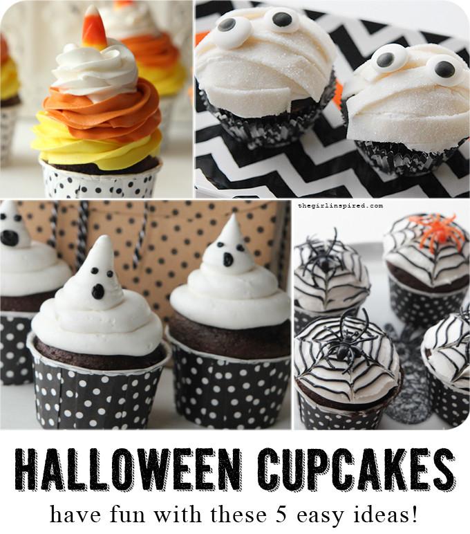 Diy Halloween Cupcakes  5 DIY Halloween Cupcakes girl Inspired