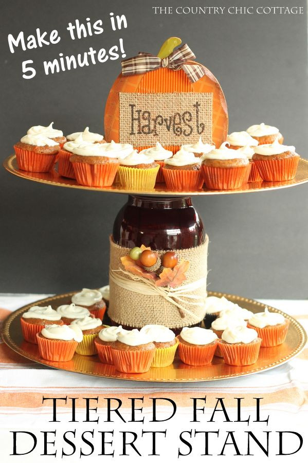 Diy Thanksgiving Desserts  109 Best images about Crafts CAKE PLATES & STAND on