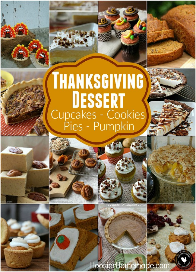 Diy Thanksgiving Desserts  Thanksgiving Dessert Hoosier Homemade