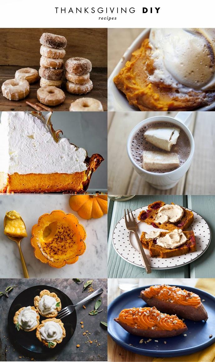 Diy Thanksgiving Desserts  DIY THANKSGIVING RECIPES