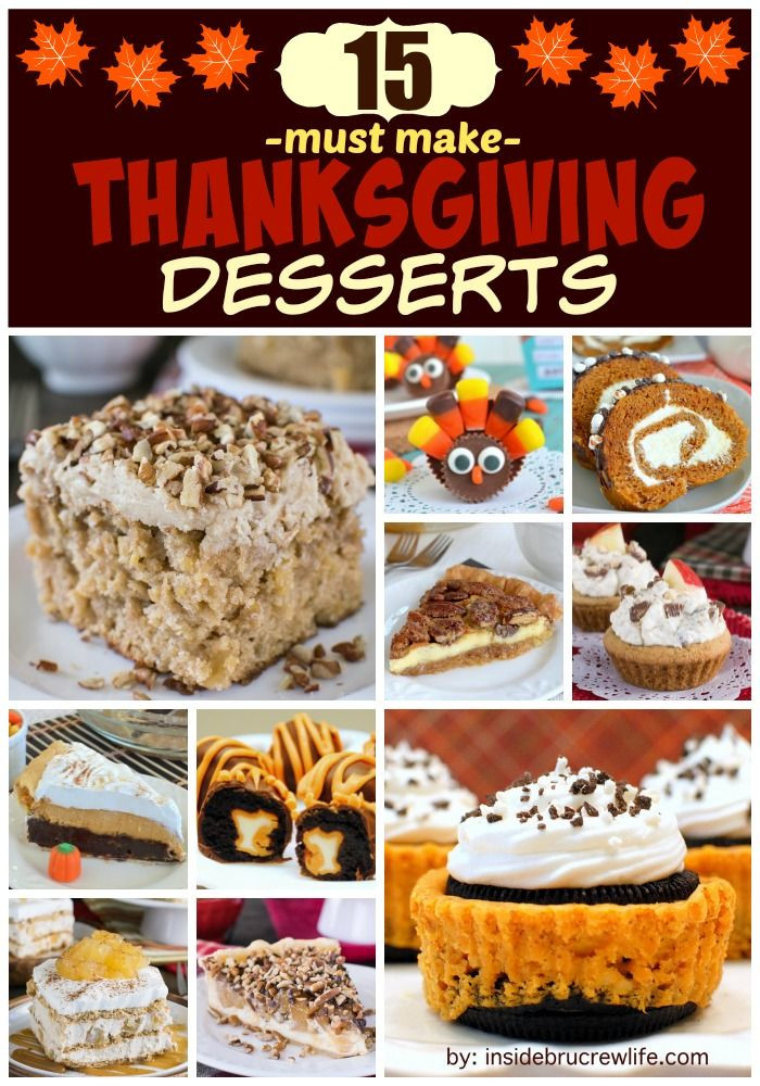 Diy Thanksgiving Desserts  607 best images about DIY Thanksgiving on Pinterest