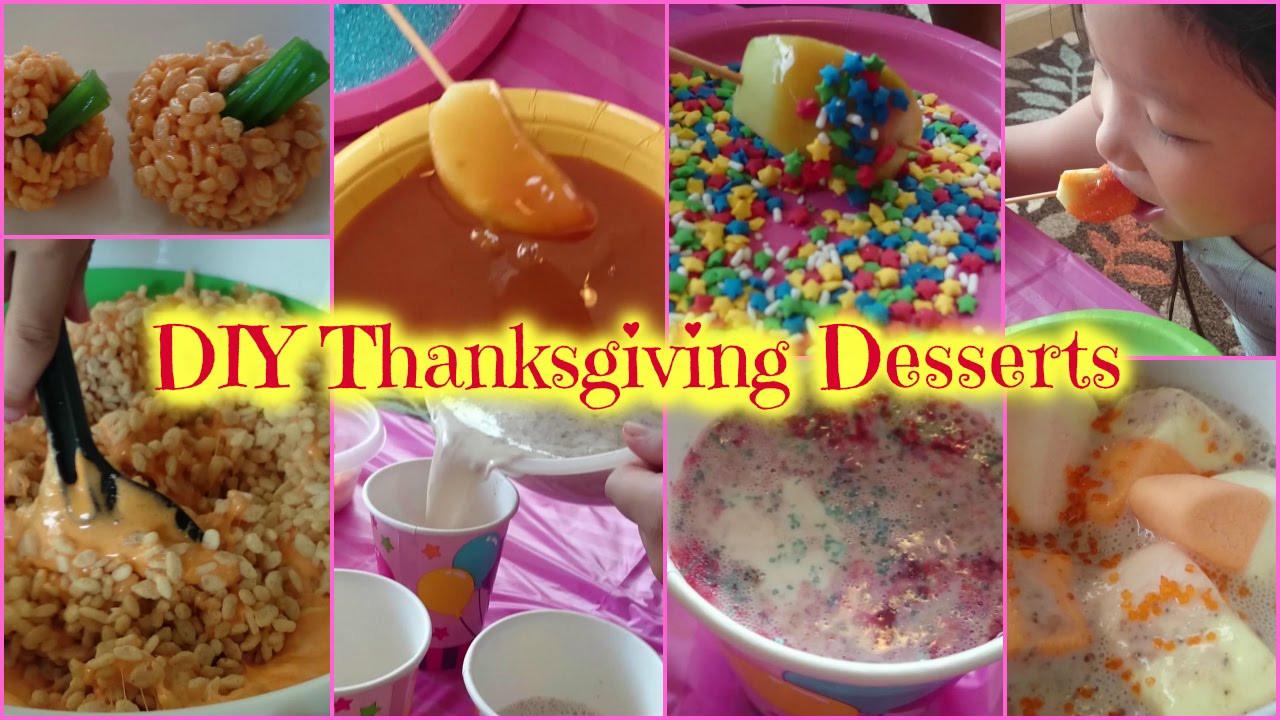 Diy Thanksgiving Desserts  DIY Thanksgiving desserts 感謝祭のデザートづくり