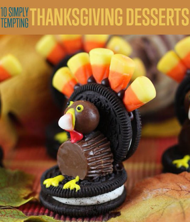 Diy Thanksgiving Desserts  Thanksgiving Desserts