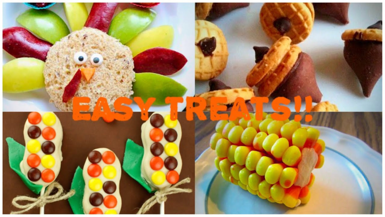 Diy Thanksgiving Desserts  EASY DIY No Bake Thanksgiving Treat Ideas Great For Kids