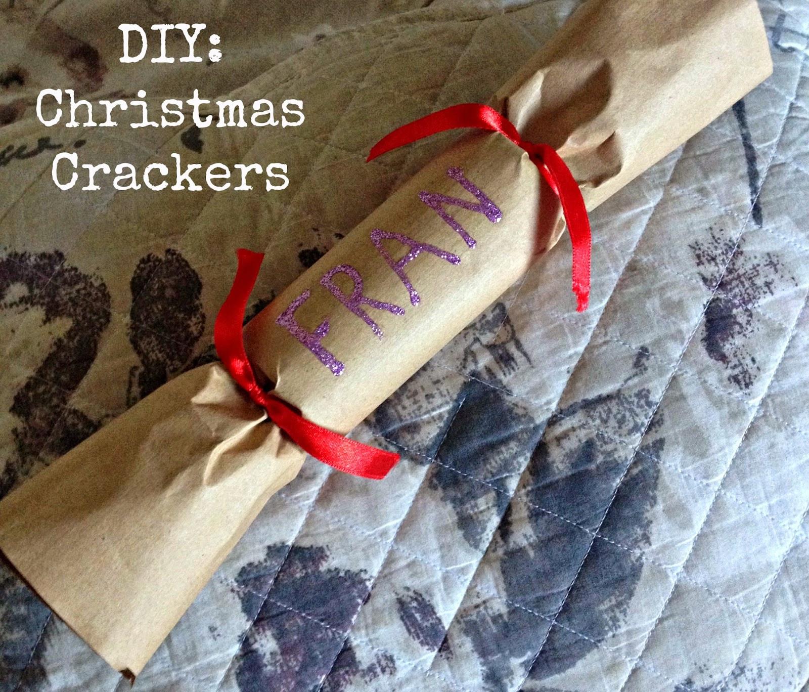 Do It Yourself Christmas Crackers  Emily & Han xo DIY Christmas Crackers