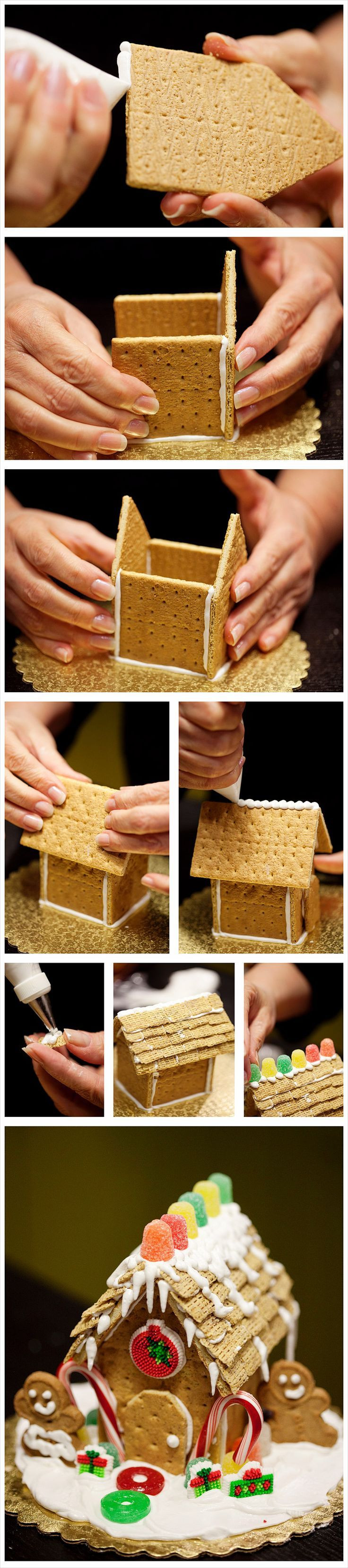 Do It Yourself Christmas Crackers  DIY Gingerbread House s and for