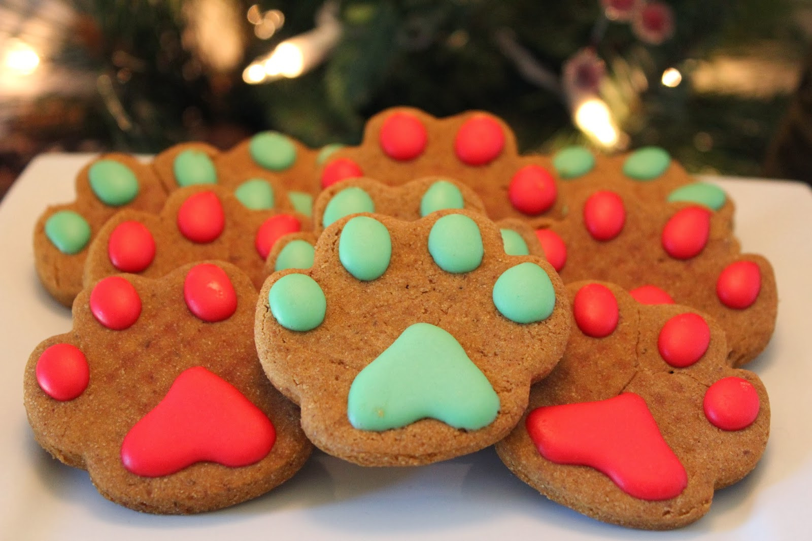 Dog Christmas Cookies  It s TIME Christmas Dog Treats are here Treat Dreams