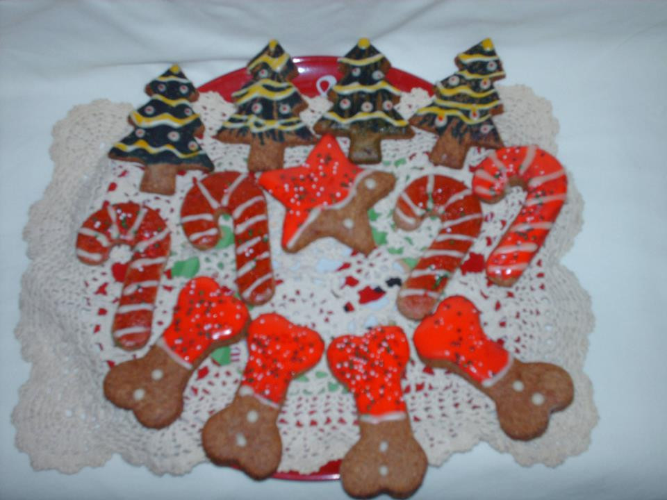 Dog Christmas Cookies  Frosting Fran Dog Christmas Cookies Decorated With Royal