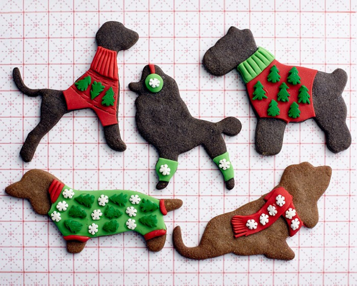 Dog Christmas Cookies  How To Make Ugly Sweater Doggie Cookies