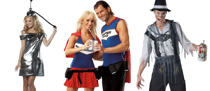 Drinks Halloween Costumes  Get Your Drink with These Beer Themed Halloween