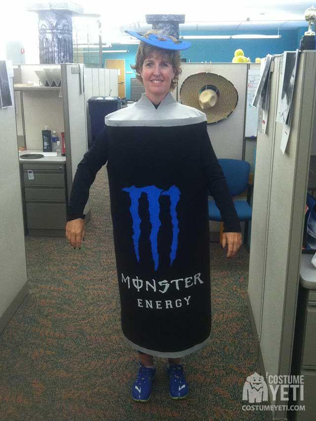 Drinks Halloween Costumes  Monster Energy Drink Costume
