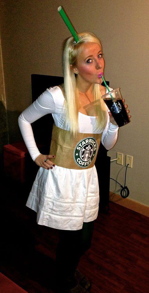 Drinks Halloween Costumes  Best 25 Starbucks halloween costume ideas on Pinterest