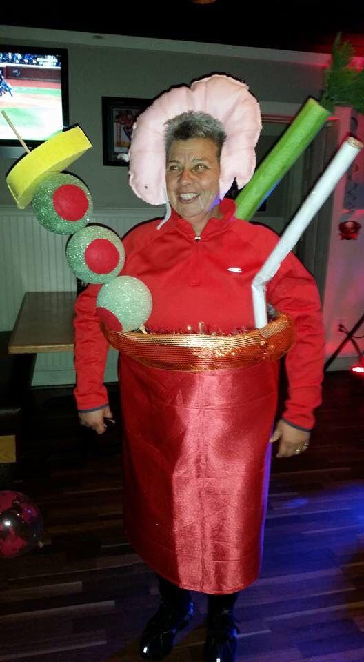 Drinks Halloween Costumes  Bloody Mary drink Halloween costume Award winning