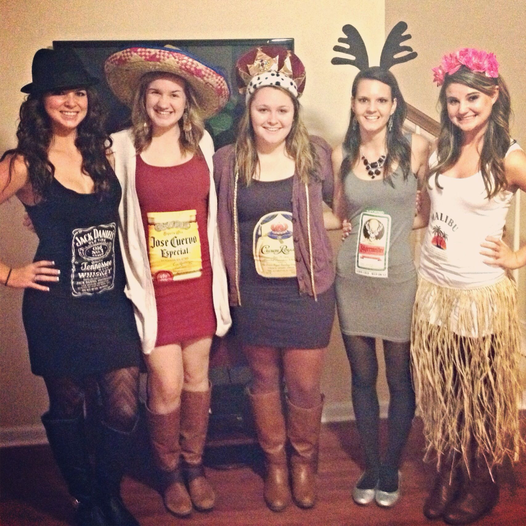 Drinks Halloween Costumes  Cute alcohol Halloween costumes