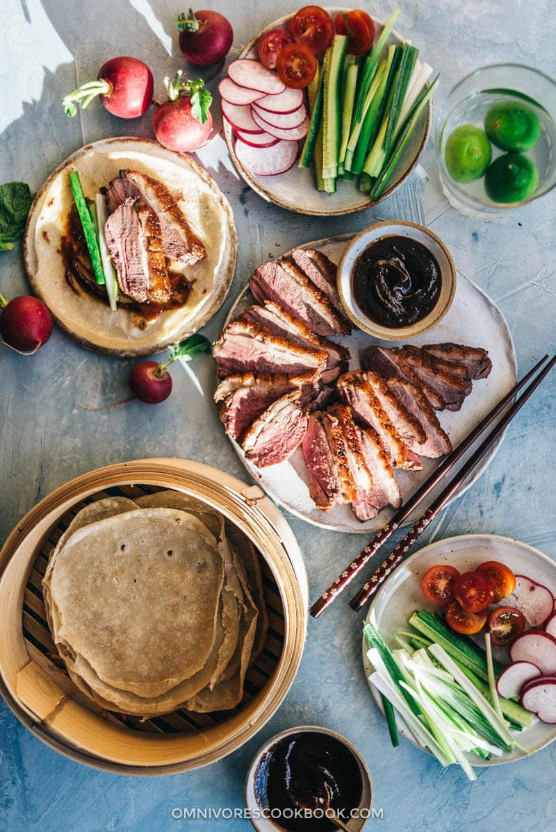 Duck Recipes For Thanksgiving  Crispy Chinese Duck Breast