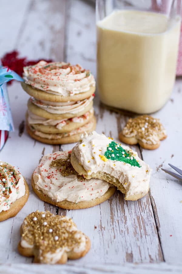Easy Bake Christmas Cookies  Slice n Bake Vanilla Bean Christmas Sugar Cookies