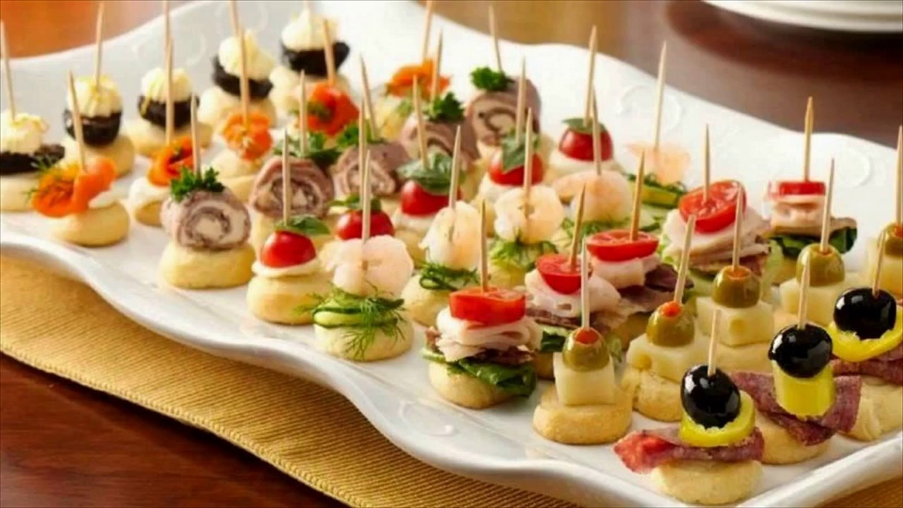 Easy Christmas Appetizers Finger Foods  Party Appetizers Finger Food
