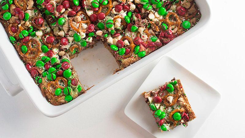 Easy Christmas Bar Cookies  Christmas 7 Layer Cookie Bars Recipe Tablespoon