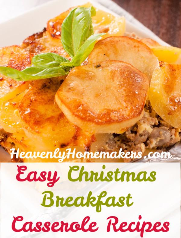 Easy Christmas Breakfast Casseroles  Easy Christmas Breakfast Casserole Recipes That Can Be