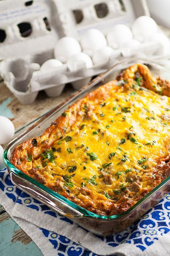 Easy Christmas Breakfast Casseroles  Easy Egg Breakfast Casserole Recipe
