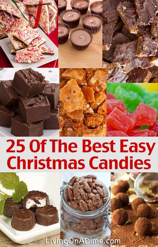 Easy Christmas Candy Recipes  25 Easy Candy Recipes Perfect For The Holidays