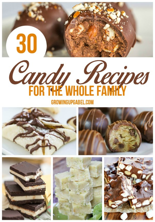 Easy Christmas Candy Recipes  30 Recipes for Homemade Candy