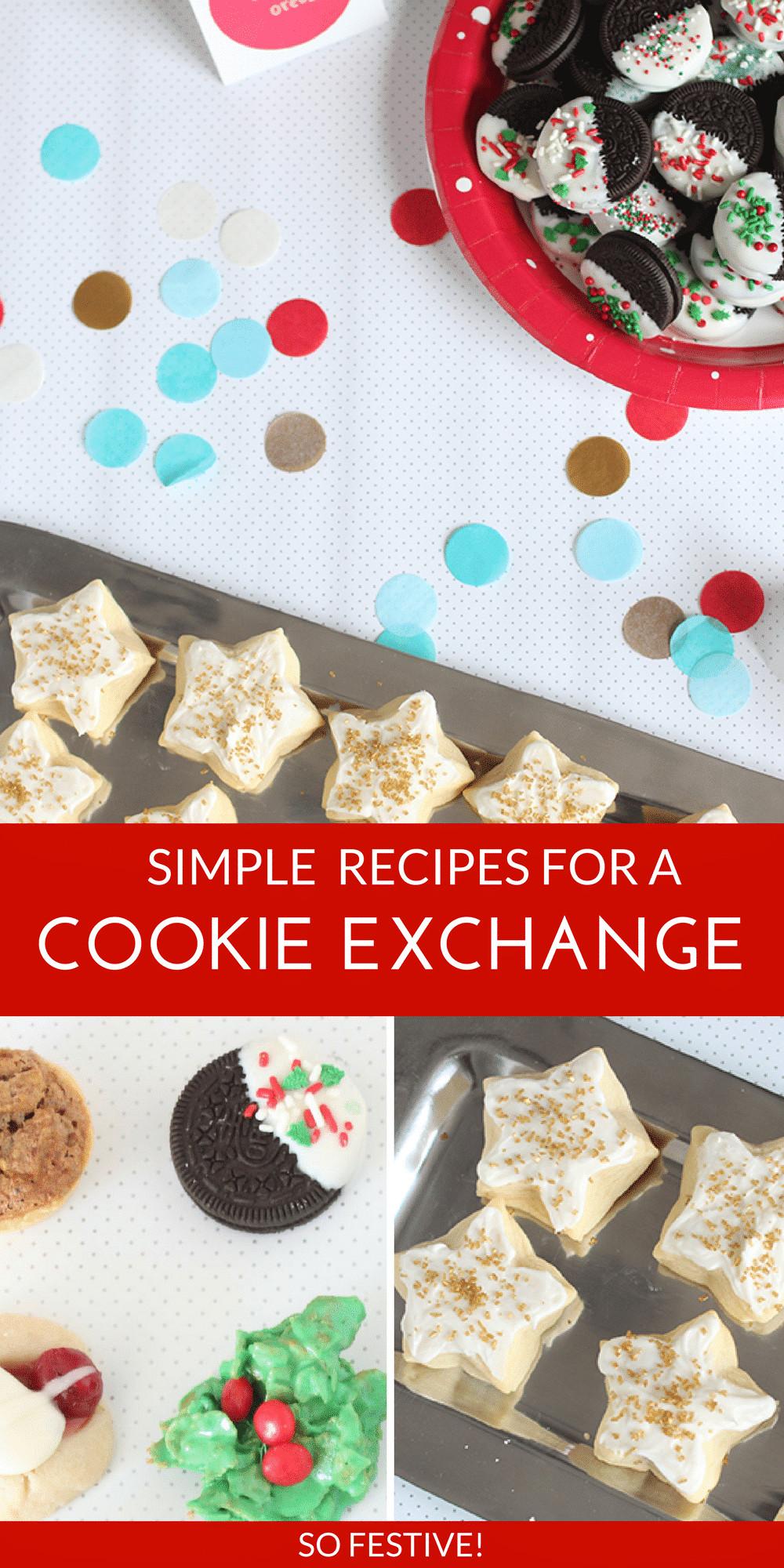Easy Christmas Cookies For Cookie Exchange  Cookie Exchange Winning Sugar Cookie Recipe So Festive