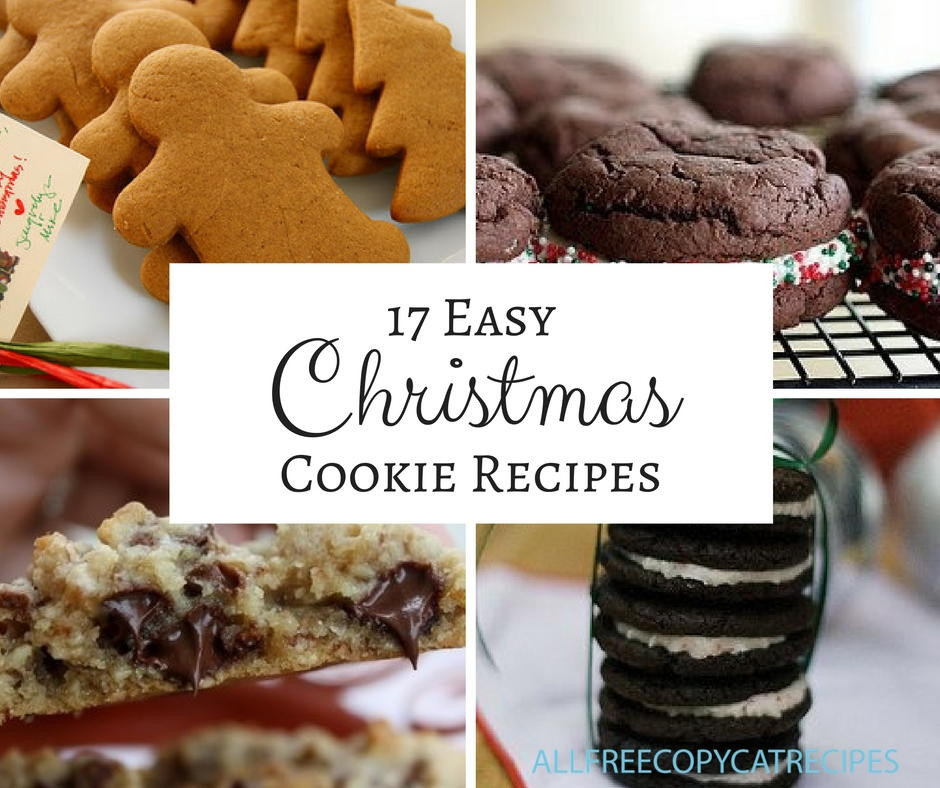 Easy Christmas Cookies For Cookie Exchange  17 Easy Christmas Cookies For Hosting A Christmas Cookie