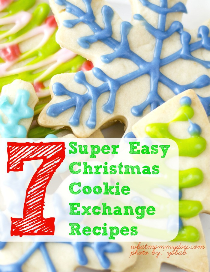 Easy Christmas Cookies For Cookie Exchange  7 Super Easy Christmas Cookie Exchange Recipes What