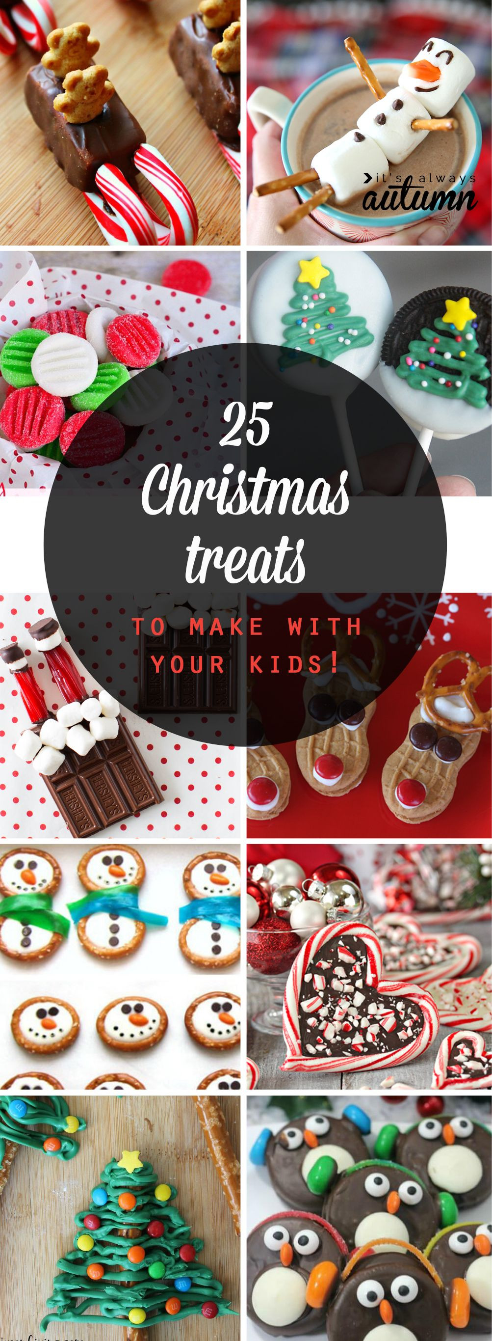 Easy Christmas Cookies To Make With Kids  25 adorable Christmas treats to make with your kids