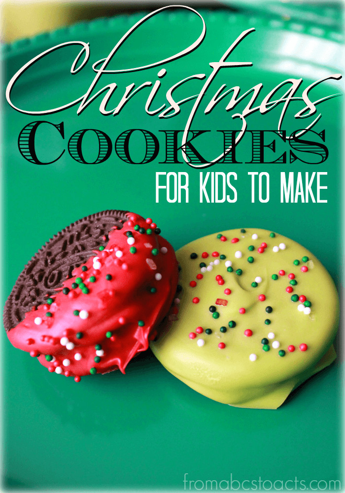 Easy Christmas Cookies To Make With Kids  Simple Christmas Cookies for Kids