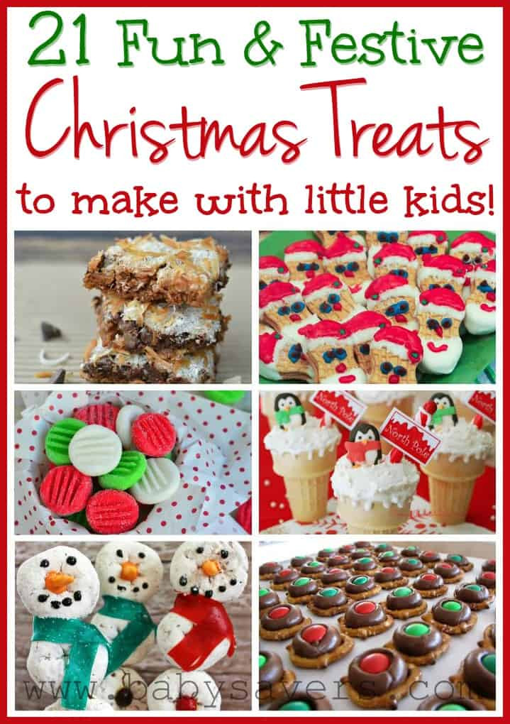 Easy Christmas Cookies To Make With Kids  Easy Christmas Recipes for Kids 21 Kid Friendly Treats