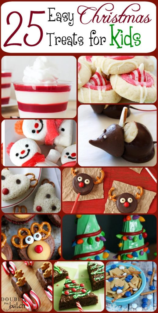 Easy Christmas Cookies To Make With Toddlers  25 Easy Christmas Treats For Kids – Christmas Treat Ideas