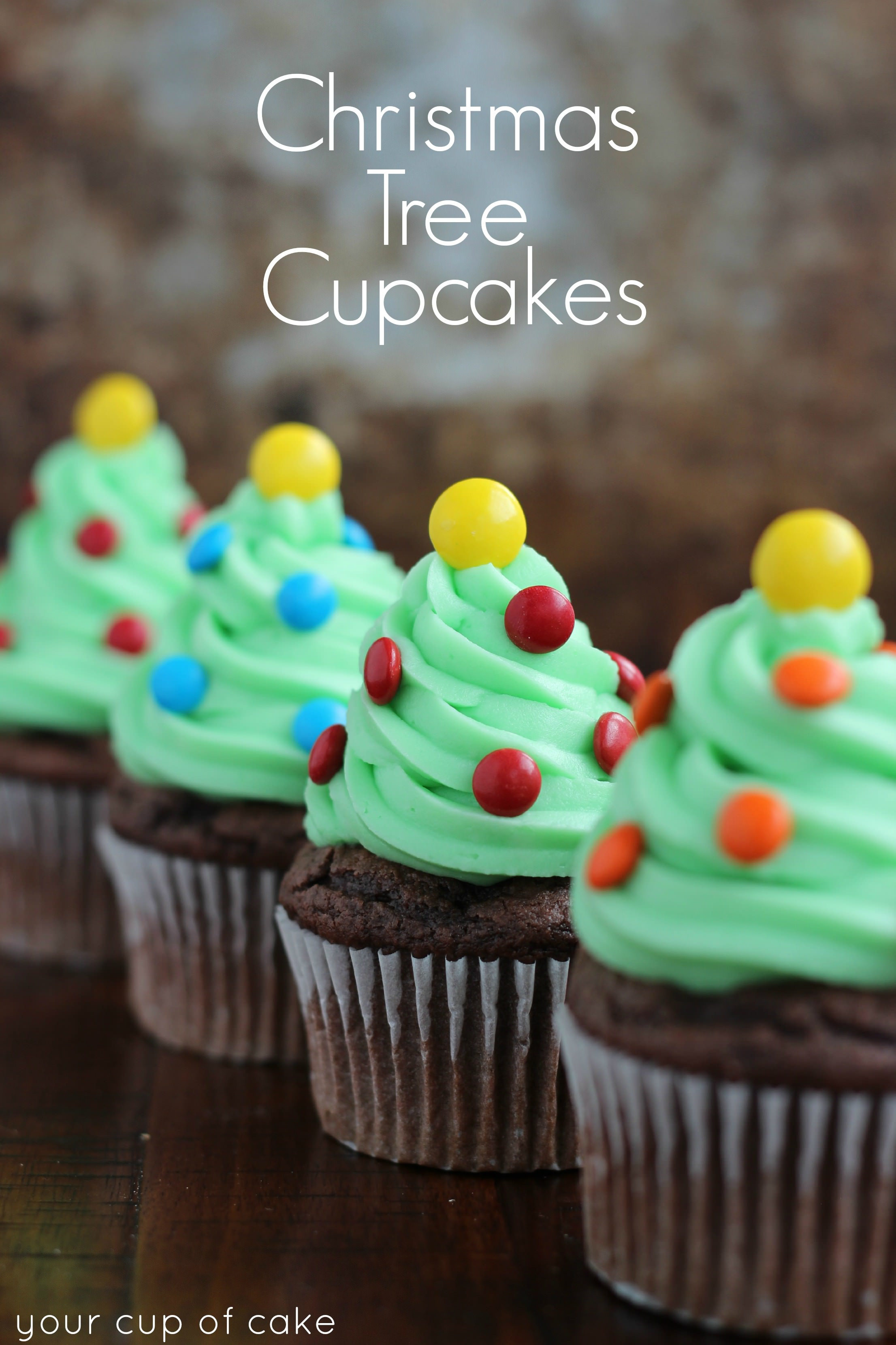 Easy Christmas Cupcakes  Easy Cupcake Decorating for Christmas Your Cup of Cake