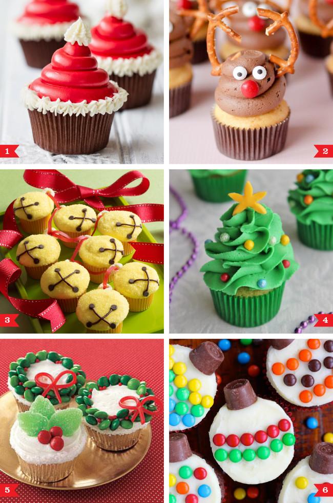 Easy Christmas Cupcakes  Easy Christmas cupcakes that anyone can make