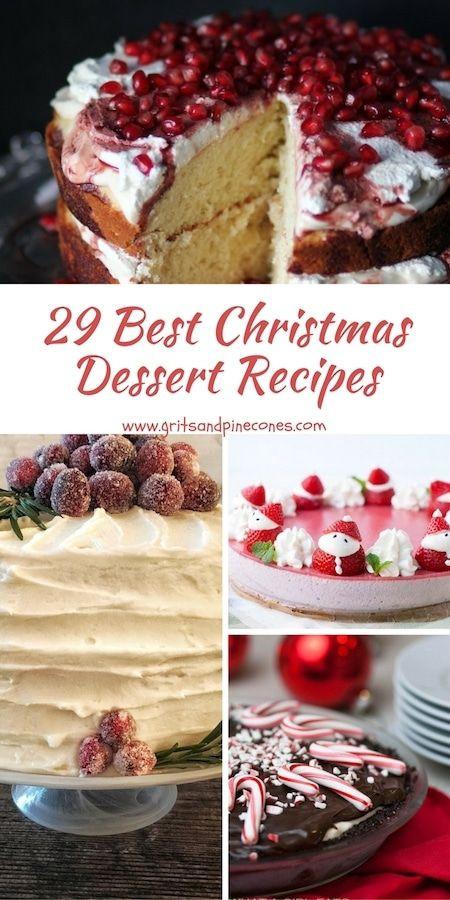 Easy Christmas Desserts Pinterest  Best 25 Christmas desserts ideas on Pinterest