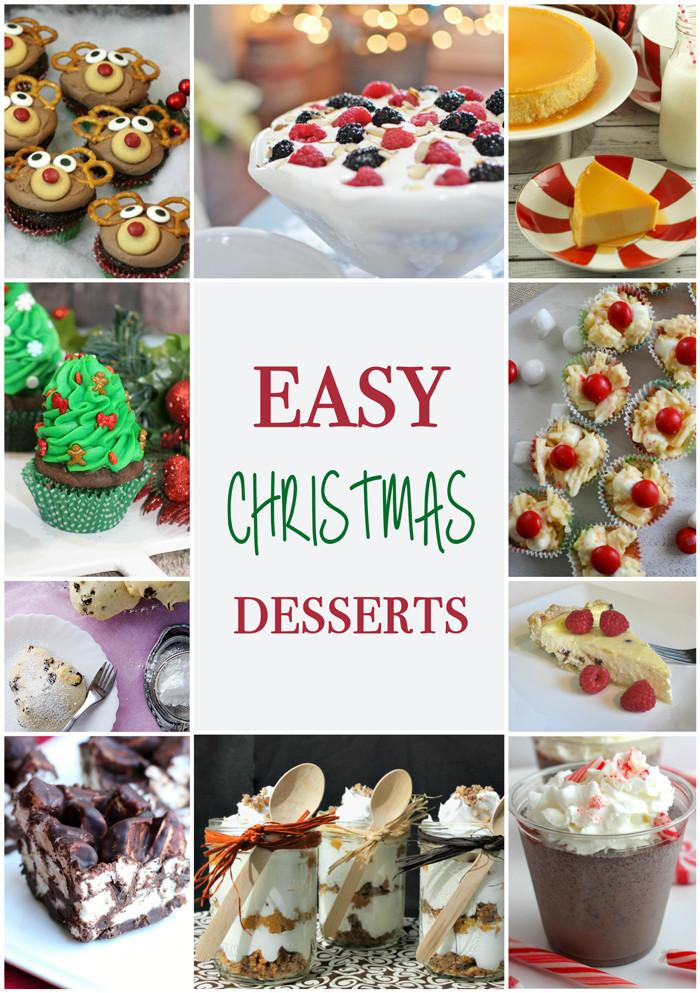 Easy Christmas Desserts Pinterest  Easy Christmas Desserts April Golightly