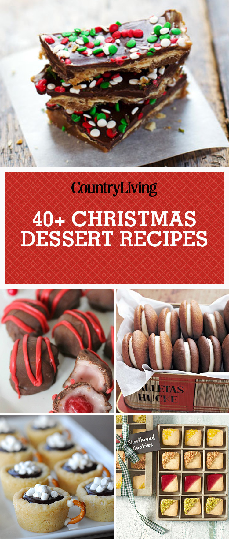 Easy Christmas Desserts Pinterest  45 Easy Christmas Desserts Best Recipes and Ideas for