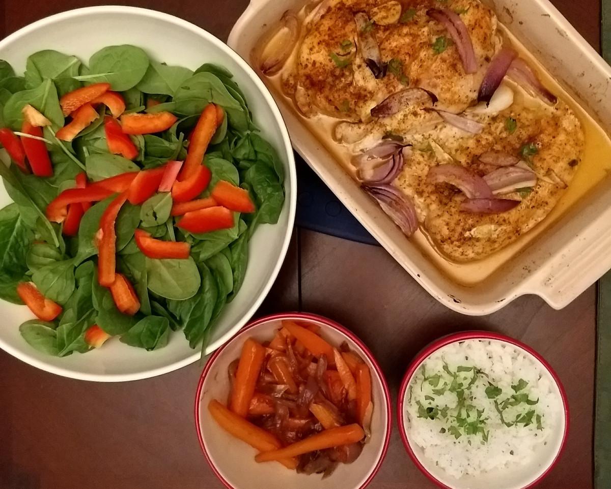 Easy Christmas Dinner  A Simple Christmas Dinner – foo mama