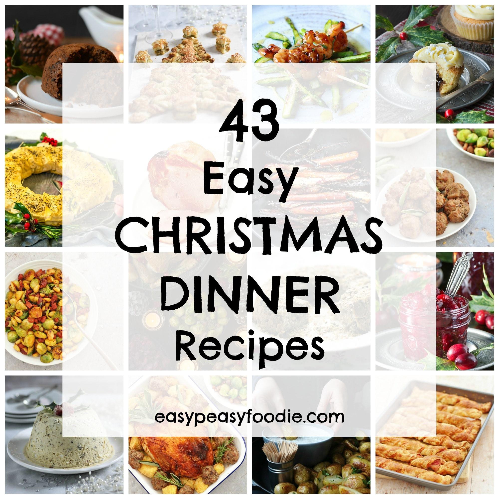 Easy Christmas Dinner  43 Easy Christmas Dinner Recipes Easy Peasy Foo