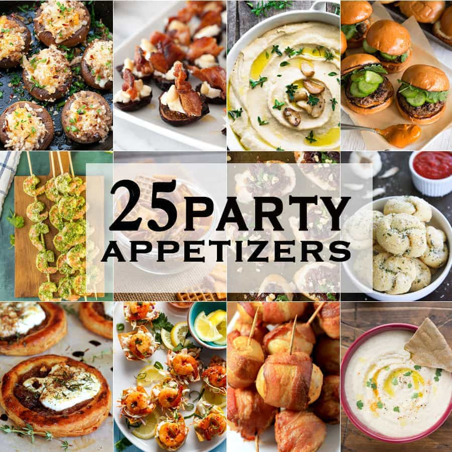 Easy Christmas Eve Appetizers  25 Party Appetizers The Cookie Rookie