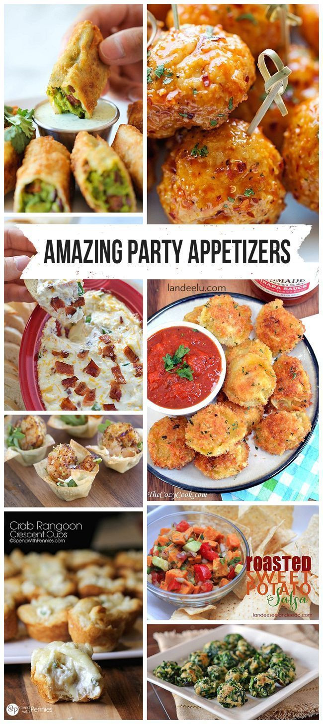 Easy Christmas Eve Appetizers  Most Amazing Party Appetizer Recipes in the ENTIRE WORLD