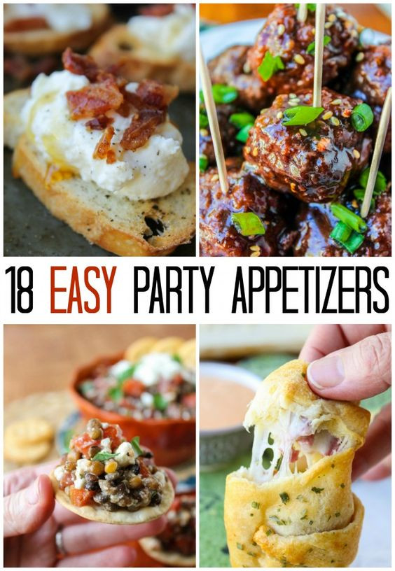Easy Christmas Eve Appetizers  18 EASY Appetizer Ideas for New Year s Eve