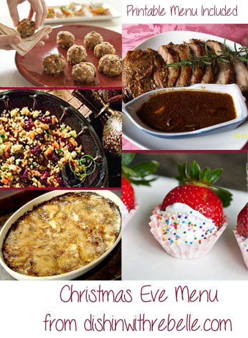 Easy Christmas Eve Dinner  17 Best ideas about Christmas Eve Dinner on Pinterest