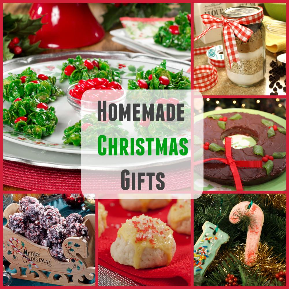 Easy Christmas Food Gifts  Homemade Christmas Gifts 20 Easy Christmas Recipes and