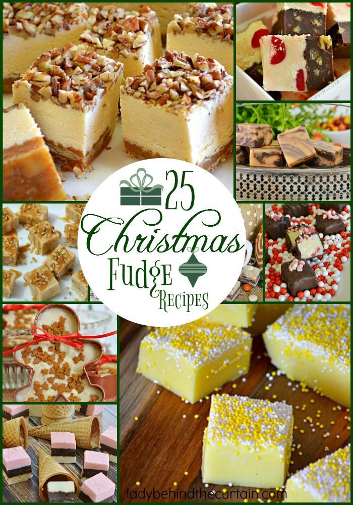 Easy Christmas Fudge Recipe  25 Christmas Fudge Recipes