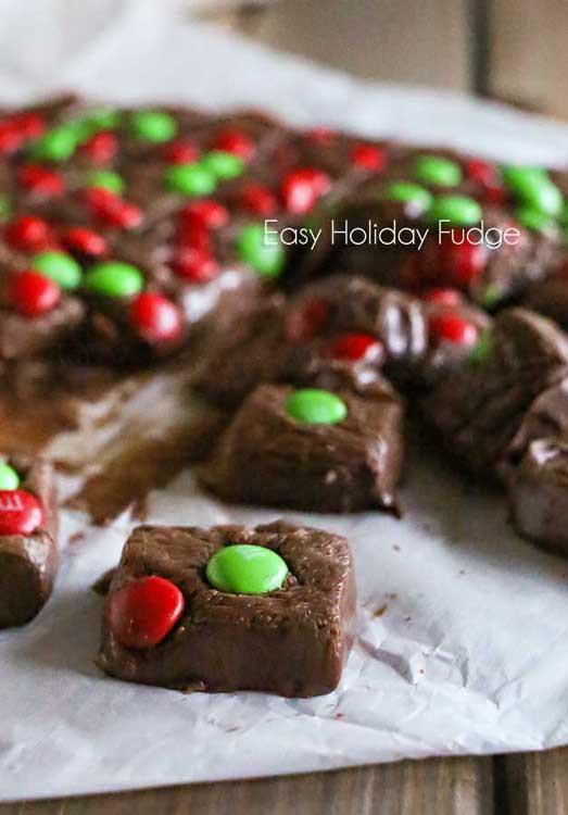 Easy Christmas Fudge Recipe  Easy Holiday Fudge your homebased mom